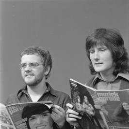 Gerry Rafferty en Joe Egan in 1973