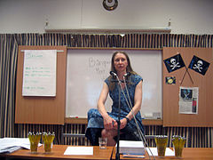 Steph Swainston på Åcon 2008
