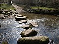 Stepping Stones by Meavy Ford - geograph.org.uk - 384744.jpg