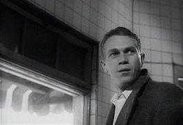 Steve McQueen in The Great St. Louis Bank Robbery