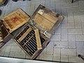 Stiele mit kleinem Kopfstückverstarke Wurfkörper 361 lp, Ben Junier ammo collection pic1.JPG