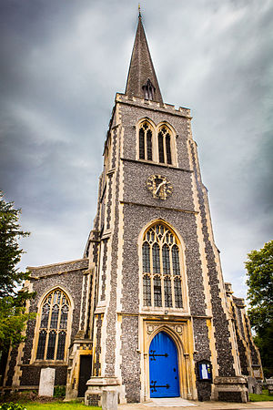 Wimbledon, London - St Mary's Church