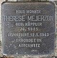 Stolperstein Bamberger Str 22 (Wilmd) Therese Mejerzon.jpg