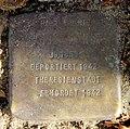 Stolperstein Falkentaler Steig 16 (Hermd) Isidor Arndt.jpg