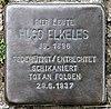 Stolperstein Hubertusallee 8 (Grune) Hugo Elkeles.jpg
