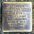 Stolperstein Jaques Goldstein (Liège).jpg