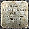 Stolperstein Peter-Hille-Str 17 (Frihg) Denny Bernhard.jpg
