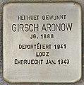 Stolperstein für Girsch Aronow (Differdingen).jpg