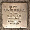 Stolperstein für Gizella Domán.JPG