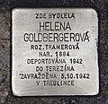 Stolperstein für Helena Goldbergerová.JPG