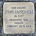 Stolperstein schuetzenstr 12 pappenheim jonas.JPG
