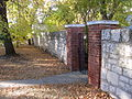 Stone fence, 17th Street with gate.jpg
