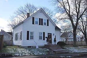 Franklin B. Jenkins House (Middle Street, Stoneham, Massachusetts) - Image: Stoneham MA Franklin B Jenkins House 2Middle Street
