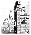 Stoomwerktuig van Newcomen met kruk en voerwiel, 1852.jpg