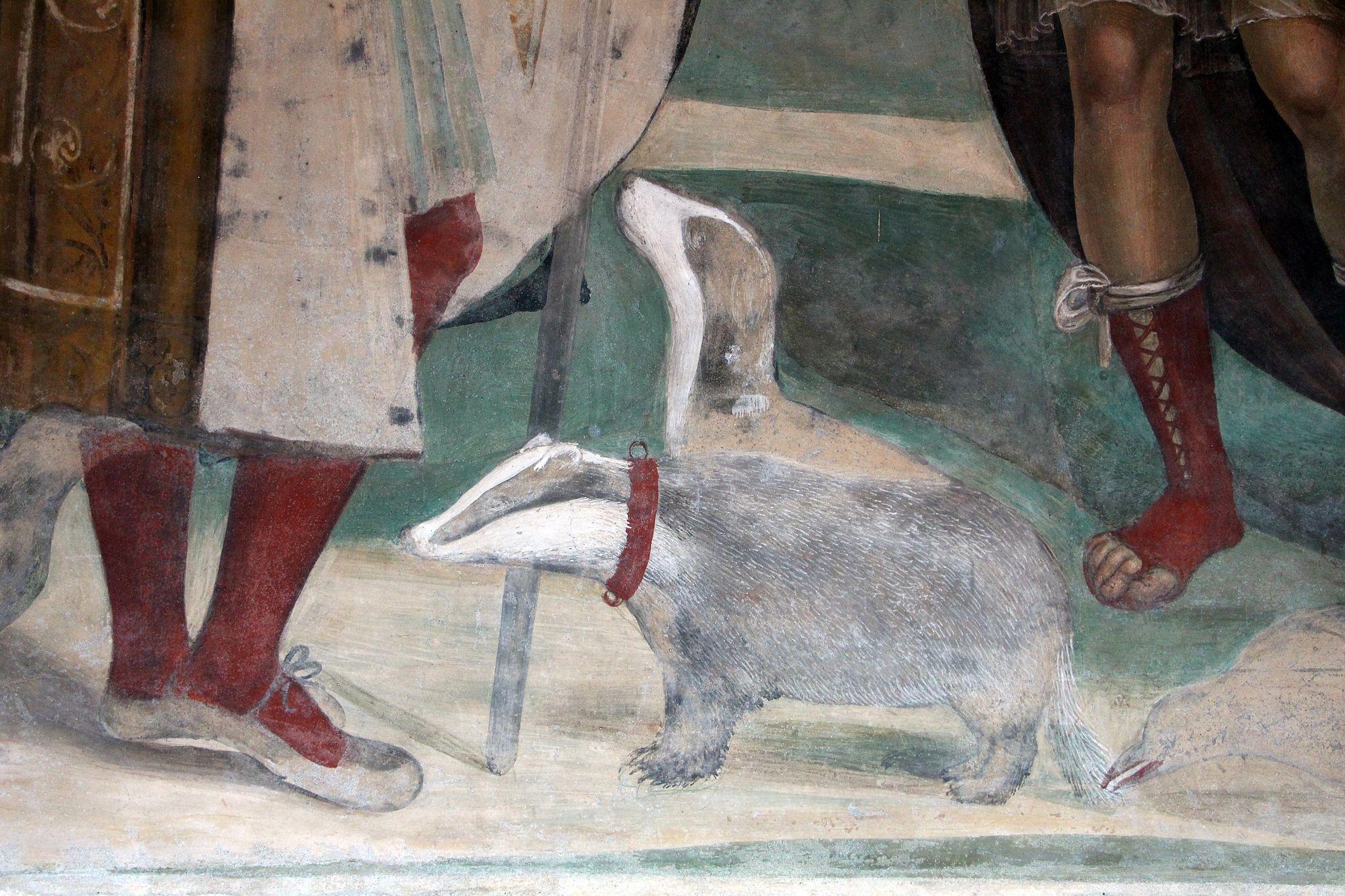 Storie di s. benedetto, 03 sodoma - Come Benedetto risalda lo capistero che si era rotto 09