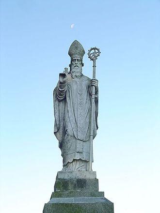 Hiberno-Roman relations - The Romano-Briton Saint Patrick, Patron Saint of Ireland