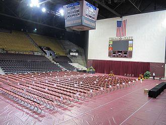 Strahan Coliseum - Strahan's Coliseum Stage