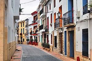 La Nucia - Street in La Nucia