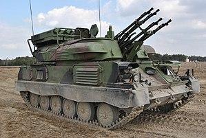 """Strzelania 34. Brygady Kawalerii Pancernej z Żagania z ZSU-23-4 MP """"BIAŁA"""" (03).jpg"""
