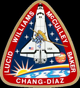 Franklin Chang Díaz - Image: Sts 34 patch
