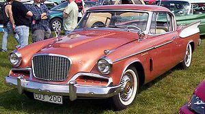 Studebaker Golden Hawk - Studebaker Golden Hawk 1957