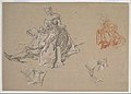 Studies of a Couple Seated on the Ground, Looking at a Songbook MET DP821835.jpg