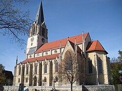 Stuttgart-Möhringen Evang. Martinskirche 1.JPG