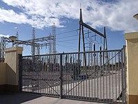 Subestación eléctrica de la avenida de los hermanos Bou 03.JPG