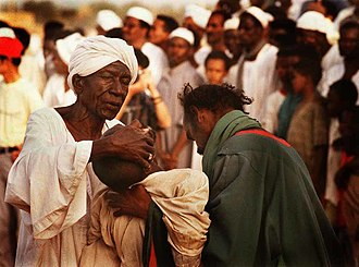 Islam in Sudan - Sufi ritual being performed in Sudan.