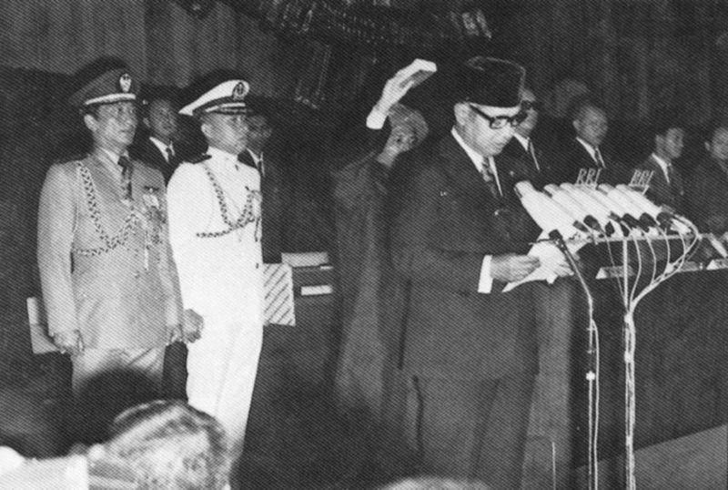 Suharto coronado