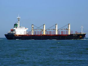 Sujitra Naree - IMO 9116307 - Callsign HSED2 p1 approaching Port of Rotterdam, Holland 04-Aug-2007.jpg