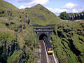 Summit Tunnel Littleborough Class 110 1982.jpg