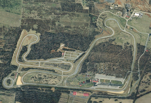 Summit Point Motorsports Park - Image: Summit point satellite