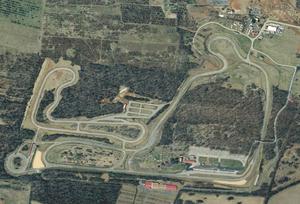 Summit Point Motorsports Park - Image: Summit point satellite