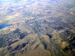 Sunbury, Victoria - Aerial view of Sunbury, Victoria