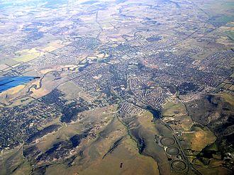 Sunbury, Victoria - Aerial view of Sunbury, Victoria