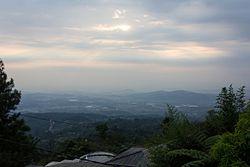 Sunrise, Bandungan, Semarang Regency, 2014-10-01.jpg