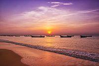 Sunrise in Tuticorin beach.jpg