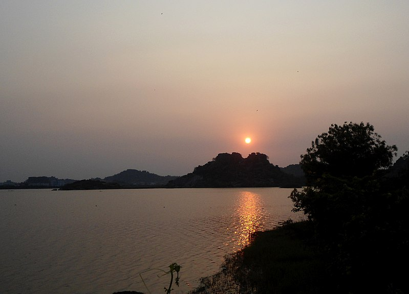 File:Sunset at Bhadrakali Lake 01.jpg