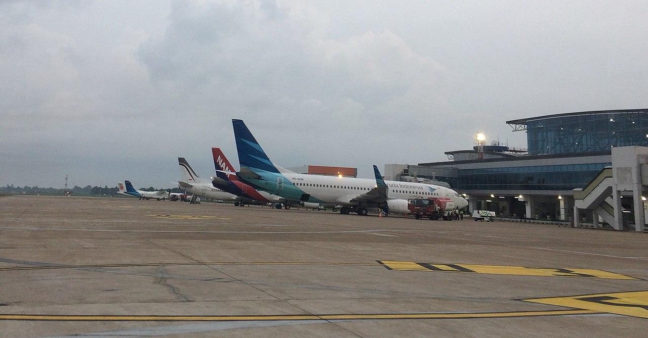 World's most unpunctual airports: Supadio Airport terminal