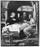 Supper at Emmaus in a room with vaulted ceiling.jpg
