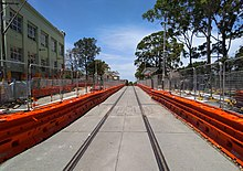 Surry Hills light rail stop 20181209.jpg