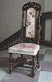 Svarvad stol, 1600-tal - Skoklosters slott - 103806.tif