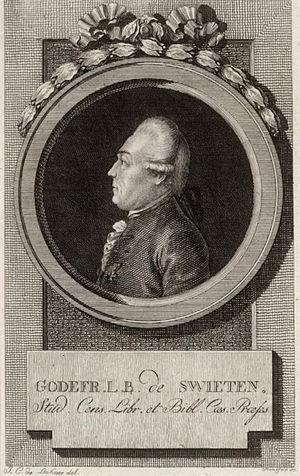 Swieten, Gottfried van Swieten, Baron van (1733-1803)