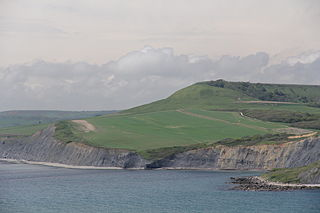 Swyre Head mountain in the United Kingdom