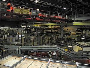 Synchrotron Radiation Source - The SRS synchrotron seen in 2007