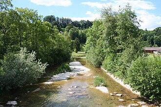 Bauma - River Töss in Bauma