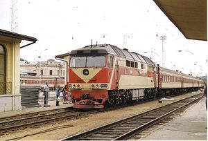 Lithuanian Railways - TEP70 in Vilnius