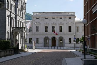 Federal Criminal Court of Switzerland - Federal Criminal Court of Switzerland in Bellinzona