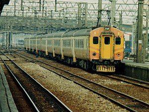 Taiwan Railway EMU100 series - EMU100 as seen in 1997 when they were still in full squadron service